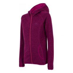 Bluzy rozpinane damskie: DAMSKA BLUZA 4F FIOLETOWA H4Z17 PLD002 958