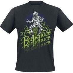 T-shirty męskie z nadrukiem: Beetlejuice Faded T-Shirt czarny
