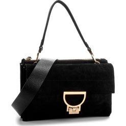 Torebka COCCINELLE - AD6 Arlettis Suede E1 AD6 12 01 01 Noir 001. Czarne torebki klasyczne damskie Coccinelle, ze skóry. W wyprzedaży za 1099,00 zł.