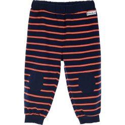 Spodnie niemowlęce: Spodnie w kolorze granatowo-koralowym