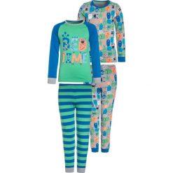 Mothercare BOYS MONSTER 2 PACK  Piżama blue. Niebieskie bielizna dziewczęca mothercare, z bawełny. Za 149,00 zł.