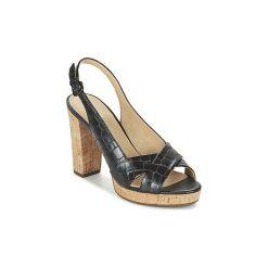Sandały Geox  D MAUVELLE C. Czarne sandały damskie marki Geox. Za 423,20 zł.