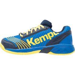 Buty sportowe damskie: Kempa ATTACK Obuwie do piłki ręcznej deep blue/lime yellow