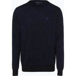 Polo Ralph Lauren - Sweter męski, niebieski. Niebieskie swetry klasyczne męskie Polo Ralph Lauren, m, polo. Za 659,95 zł.