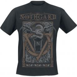 Nothgard Epitaph T-Shirt czarny. Czarne t-shirty męskie Nothgard, l. Za 74,90 zł.