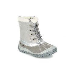 Śniegowce Dziecko Primigi  FLEN-E GORE-TEX. Czarne buty zimowe chłopięce marki ecco, z gore-texu, na sznurówki. Za 261,80 zł.