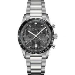 PROMOCJA ZEGAREK CERTINA DS 2 C024.447.11.081.00. Czarne zegarki męskie marki CERTINA, ze stali. W wyprzedaży za 2666,39 zł.
