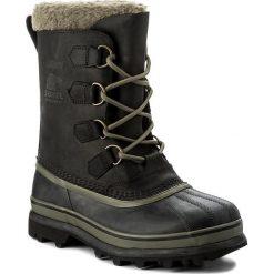 Botki męskie: Śniegowce SOREL - Caribou Wl NM2726 Black 010