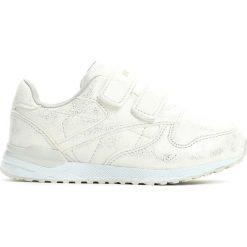 Białe Buty Sportowe Water Slide. Białe buty sportowe dziewczęce marki Born2be, z materiału, na sznurówki. Za 79,99 zł.