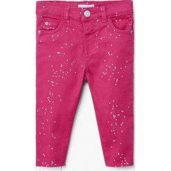 Rurki dziewczęce: Mango Kids - Jeansy dziecięce Pintora 80-104 cm