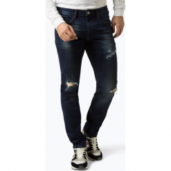 Redefined Rebel - Jeansy męskie – Milano Destroy, niebieski. Niebieskie jeansy męskie regular Redefined Rebel. Za 249,95 zł.