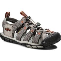 Sandały KEEN - Clearwater Cnx 1018497 Grey Flannel/Potters Clay. Szare sandały męskie skórzane Keen. W wyprzedaży za 269,00 zł.