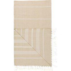 Chusta hammam w kolorze kremowym - 180 x 100 cm. Czarne chusty damskie marki Hamamtowels, z bawełny. W wyprzedaży za 43,95 zł.