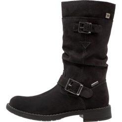 Richter Kozaki steel. Niebieskie buty zimowe damskie marki Roxy, z tworzywa sztucznego, na wysokim obcasie. W wyprzedaży za 272,35 zł.