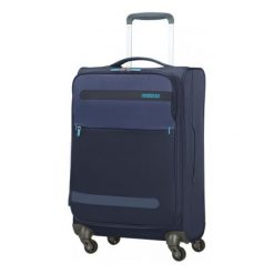 American Tourister Walizka Herolite 56 Cm Granatowa. Szare walizki marki American Tourister. W wyprzedaży za 349,00 zł.