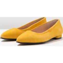 Brenda Zaro LUNA Baleriny aina. Żółte baleriny damskie Brenda Zaro, z materiału. Za 419,00 zł.