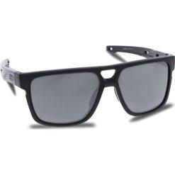 Okulary przeciwsłoneczne OAKLEY - Crossrange Patch OO9382-0660 Matte Black/Prizm Black Iridium. Czarne okulary przeciwsłoneczne męskie aviatory Oakley, z tworzywa sztucznego. W wyprzedaży za 579,00 zł.
