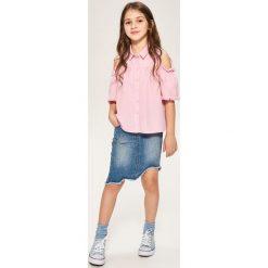 Jeansowa spódnica - Niebieski. Niebieskie spódniczki dziewczęce Reserved, z jeansu. W wyprzedaży za 39,99 zł.