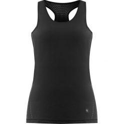 Topy sportowe damskie: Top w kolorze czarnym