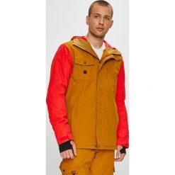 Quiksilver - Kurtka snowboardowa. Pomarańczowe kurtki męskie Quiksilver, l, z poliesteru, snowboardowy. W wyprzedaży za 599,90 zł.