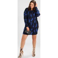 Sukienki dzianinowe: Zizzi Sukienka dzianinowa vintage indigo