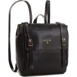 Plecak PATRIZIA PEPE - 2V8184/A4H1-K103 Nero. Czarne plecaki damskie marki Patrizia Pepe, ze skóry. W wyprzedaży za 1249,00 zł.