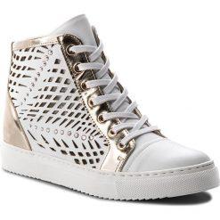 Sneakersy CARINII - B4321 G34-J16-000-B67. Białe sneakersy damskie Carinii, z materiału. W wyprzedaży za 249,00 zł.