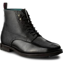 Kozaki TED BAKER - Dhavin 9-16547 Lthr Am Black. Czarne buty zimowe męskie marki Ted Baker, z materiału. W wyprzedaży za 609,00 zł.