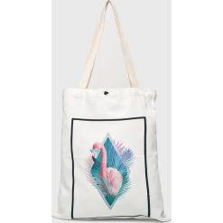 Answear - Torebka. Szare torebki klasyczne damskie ANSWEAR, z materiału, duże. W wyprzedaży za 29,90 zł.