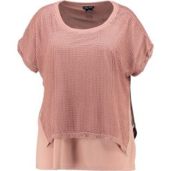 T-shirty damskie: City Chic PRETTY OVERLAY Tshirt z nadrukiem tea rose
