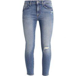 Mavi TESS Jeans Skinny Fit destroyed denim. Szare rurki damskie Mavi. Za 269,00 zł.