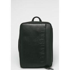 Calvin Klein - Plecak. Czarne plecaki męskie Calvin Klein, z materiału. Za 699,90 zł.