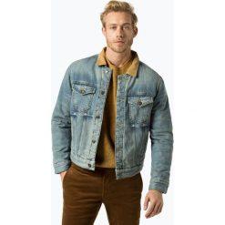 Tommy Hilfiger - Męska kurtka jeansowa – Lewis Hamilton, niebieski. Niebieskie kurtki męskie jeansowe marki Reserved, l. Za 699,95 zł.