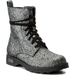 Botki GUESS - Nafa FLNAF3 PEL10 BLACK. Czarne buty zimowe damskie marki Guess, z materiału. W wyprzedaży za 269,00 zł.