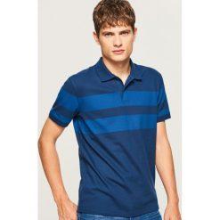Koszulka polo - Niebieski. Białe koszulki polo marki Reserved, l. Za 79,99 zł.