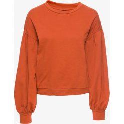 Bluzy damskie: Bluza dresowa bonprix miedziany