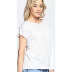 Jasnoniebieski T-shirt Aphrodite. Niebieskie t-shirty damskie Born2be, l. Za 39,99 zł.