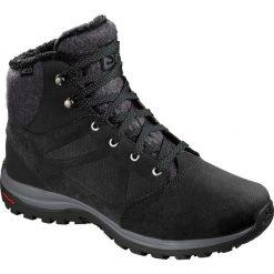 Buty trekkingowe damskie: Salomon Buty zimowe damskie Ellipse Freeze CS WP Black/Phantom r. 40 2/3 (406132)