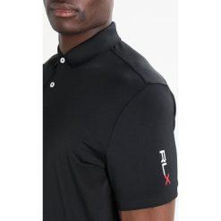 Polo Ralph Lauren Golf AIRFLOW Koszulka sportowa black. Czarne koszulki sportowe męskie Polo Ralph Lauren Golf, l, z elastanu, na golfa. Za 399,00 zł.