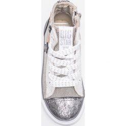 Big Star - Trampki dziecięce. Szare buty sportowe dziewczęce BIG STAR, z gumy, na sznurówki. W wyprzedaży za 79,90 zł.
