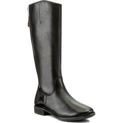 Oficerki TAMARIS - 1-25504-29 Blk/Blk Brush 035. Szare buty zimowe damskie marki Tamaris, z materiału, na sznurówki. W wyprzedaży za 329,00 zł.
