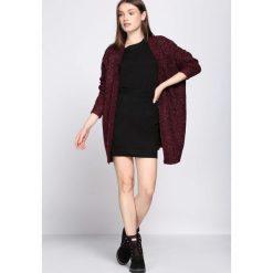 Swetry damskie: Bordowy Kardigan Process