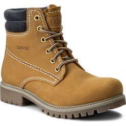 Trapery LASOCKI - WI20-ASPEN-06 Camel 1. Brązowe buty zimowe damskie Lasocki, z materiału. W wyprzedaży za 100,00 zł.