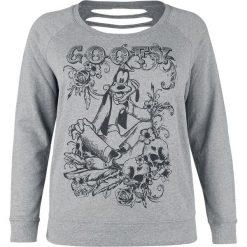 Bluzy rozpinane damskie: Myszka Miki i Minnie Goofy - Sketch Bluza damska odcienie szarego