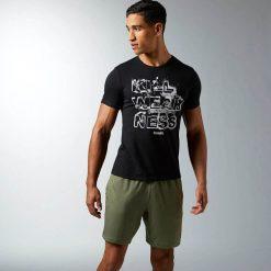 Reebok Koszulka męska Crossfit Kill Weakness Tee czarna r. XL (AJ3481). Czarne koszulki sportowe męskie marki Reebok, m. Za 105,01 zł.