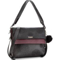 Torebka DESIGUAL - 18WAXPBS 2000. Czarne torebki klasyczne damskie Desigual, ze skóry ekologicznej, duże. Za 349,90 zł.