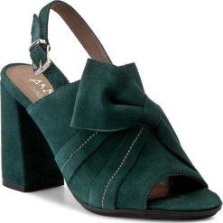 Rzymianki damskie: Sandały ANN MEX – 8026 13W Zielony