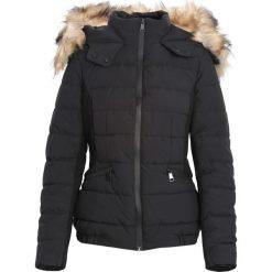 Czarno-Beżowa Kurtka Runway. Brązowe kurtki damskie pikowane Born2be, na zimę, l. Za 179,99 zł.