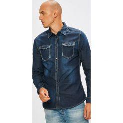 Koszule męskie na spinki: Guess Jeans - Koszula