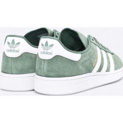Adidas Originals - Buty Munchen. Szare halówki męskie adidas Originals, z materiału, na sznurówki. W wyprzedaży za 319,90 zł.